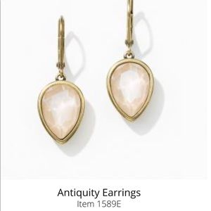 Swarovski Crystal Antiquity earrings Touchstone NU